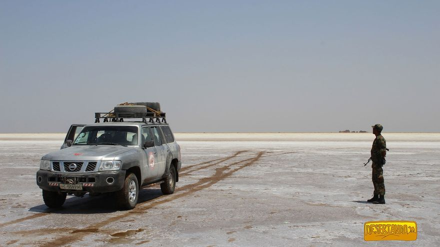 El lago Assale (desierto del Danakil).