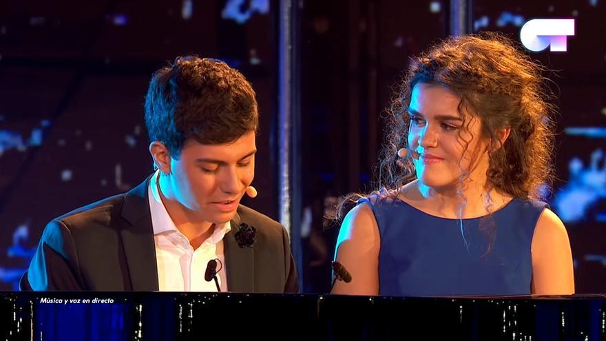 """Alfred y Amaia en OT 2017 cantando """"City of stars"""""""