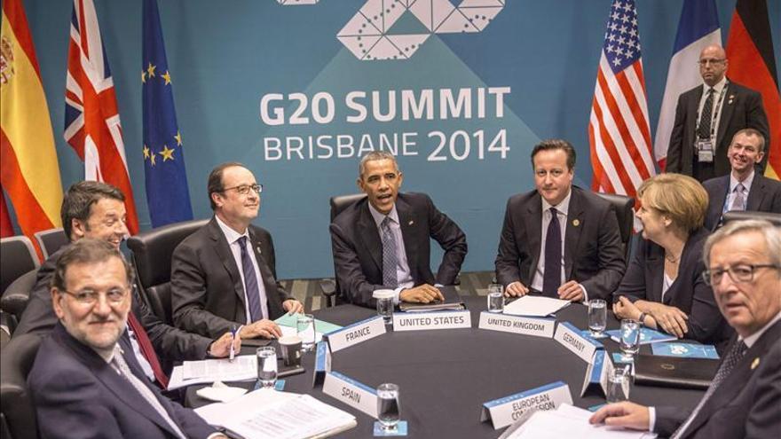 Rajoy asiste en Brisbane a la reunión con Obama y otros líderes europeos