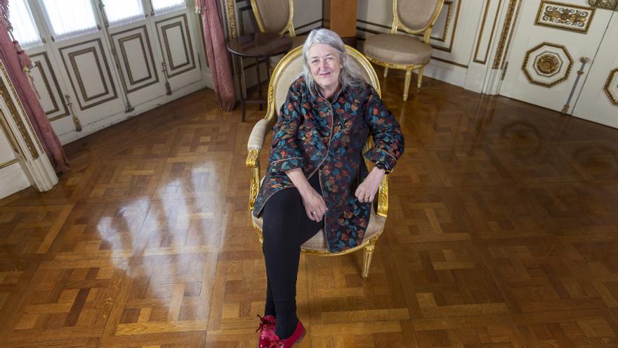 Mary Beard, antes de recibir el Honoris Causa de la UOC
