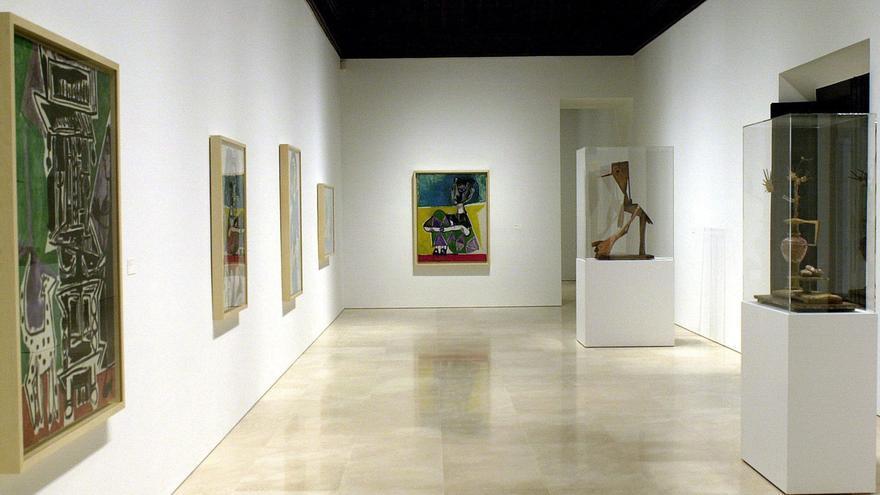 Salas del Museo Picasso de Málaga. EFE