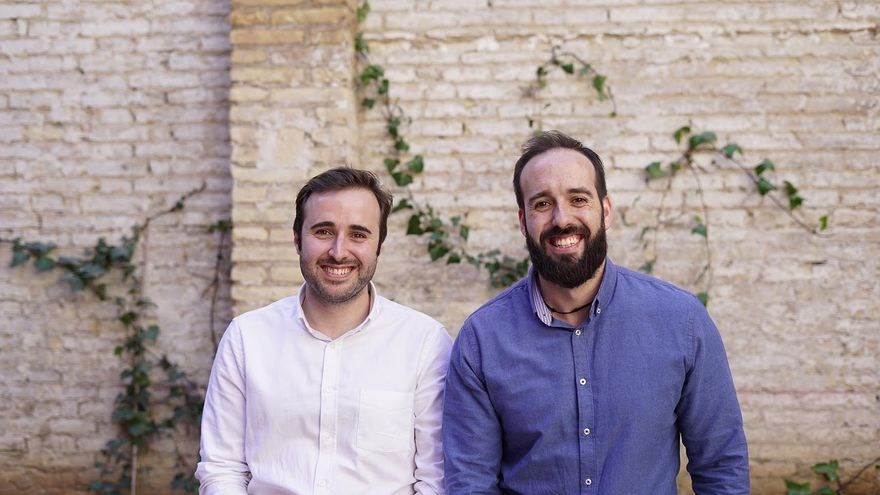Andrés Perales y Pablo Bertolín