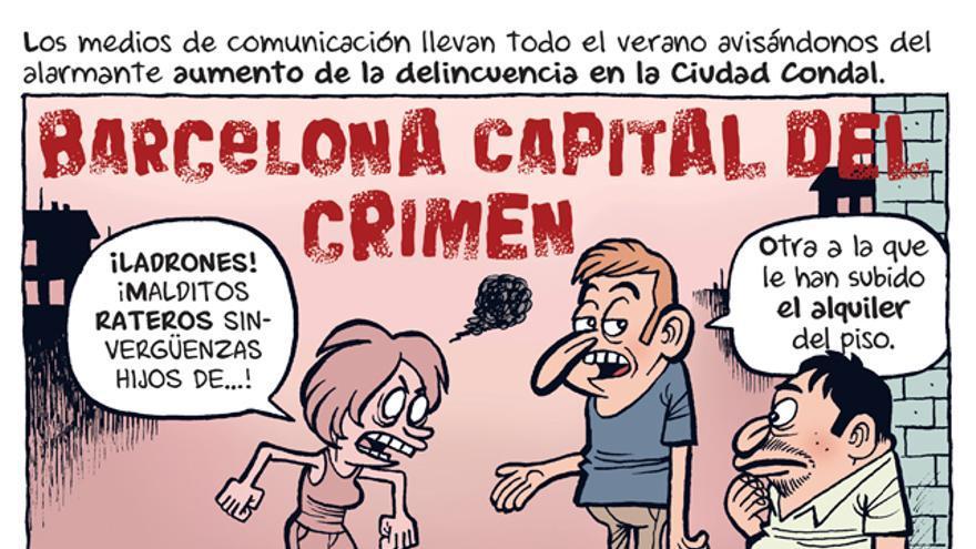 Barcelona capital del crimen