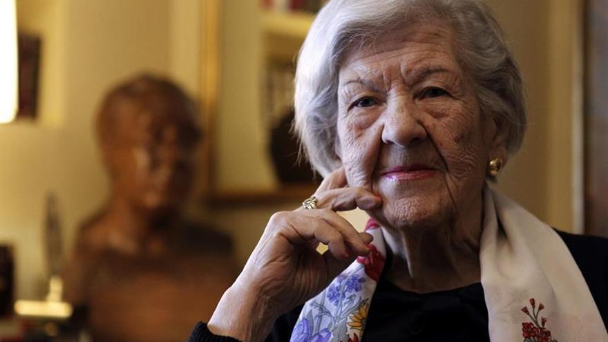 Fallece a los 92 años Leonor Machado, presidenta de la fundación A. Machado