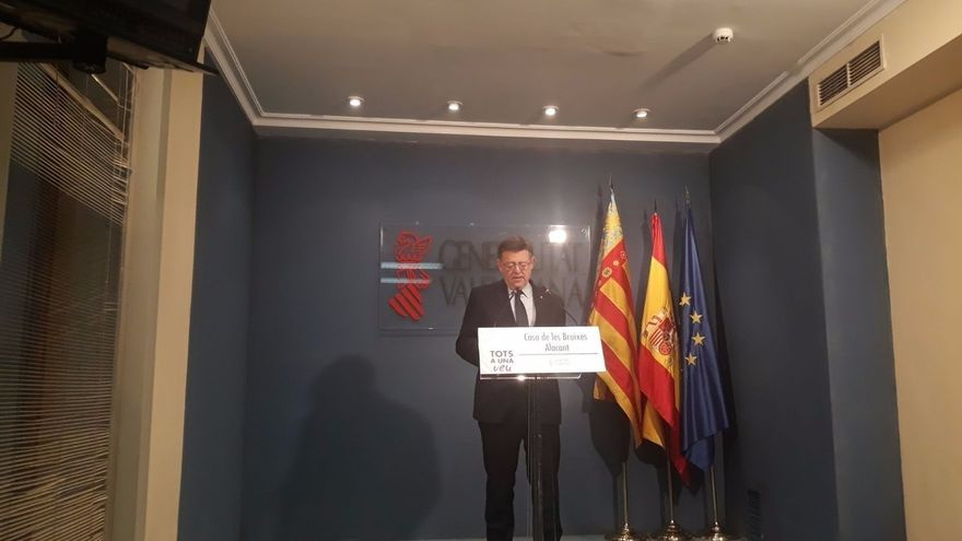 """Ximo Puig insiste en que su ausencia del Comité Federal del PSOE """"no tiene explicación de carácter partidario"""""""