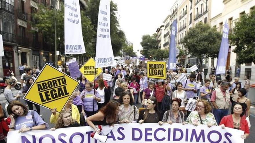 Nueva manifestación contra el aborto