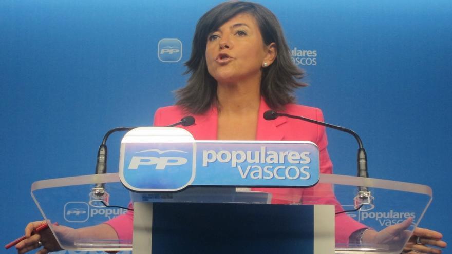 Nerea Llanos, valora los Presupuestos de 2015 del Gobierno vasco.
