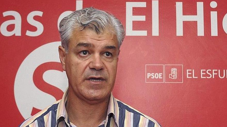 Alpidio Armas, presidente del Cabildo de El Hierro. EFE