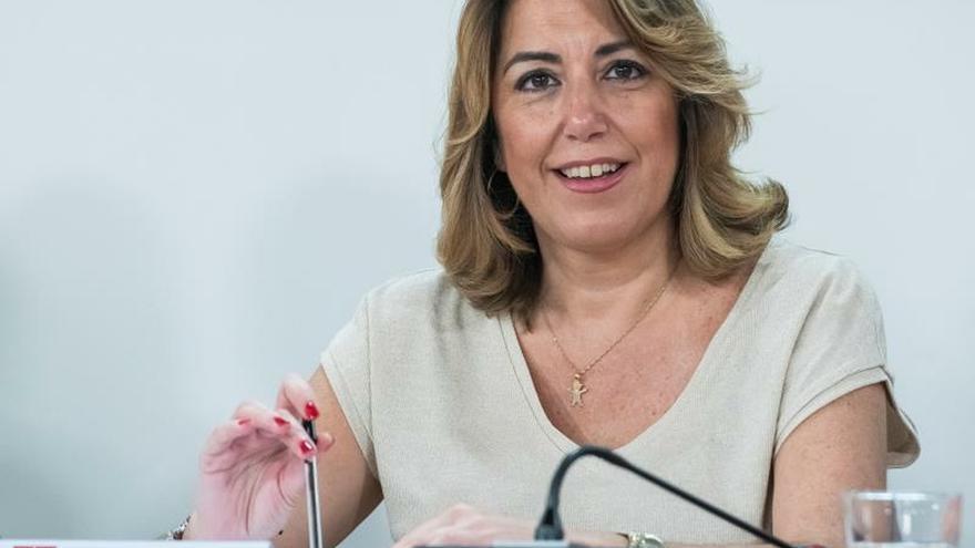 Susana Díaz anuncia que está embarazada de cuatro meses y que será niña