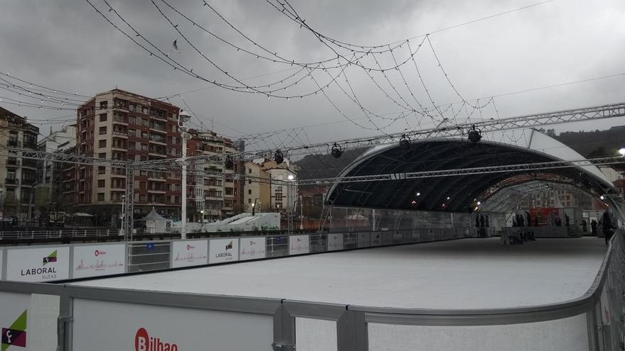 EH Bildu Bilbao pregunta a Otxandiano por las condiciones laborales de los trabajadores de la pista de patinaje