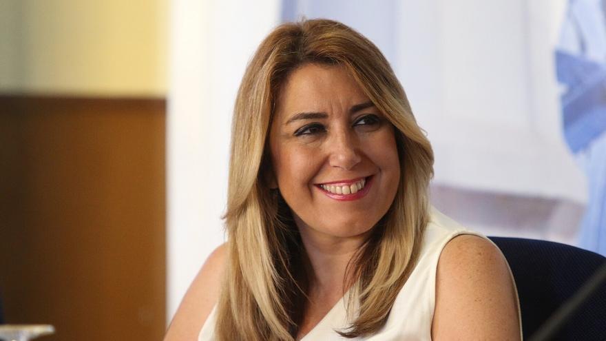 """Susana Díaz subraya el """"compromiso"""" para mejorar el nivel de licitación e inversión en la red autonómica de carreteras"""
