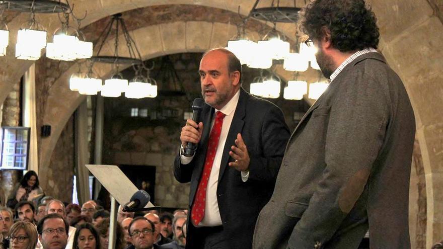 El vicepresidente, José Luis Martínez Guijarro