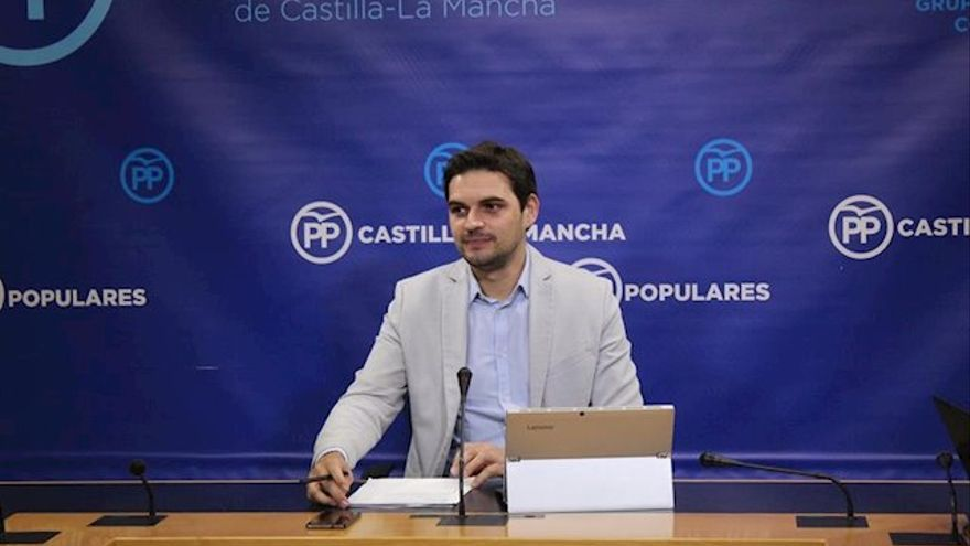 Santiago Serrano, secretario de Comunicación del PP de Castilla-La Mancha