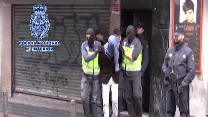 Los yihadistas detenidos fueron captados en el entorno de una mezquita en Lavapiés por una persona que sigue en España