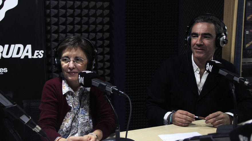 Bruno González Zorn e Isabel Morosini Reilly en Carne Cruda.jpg