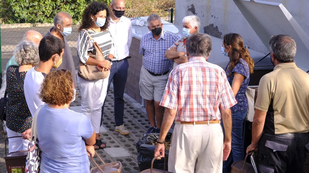 Inauguración del segundo punto de compostaje de la capital.