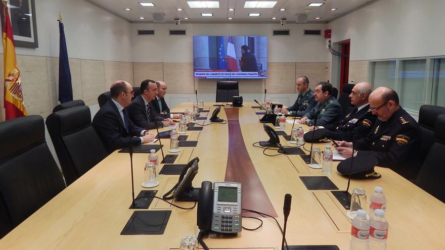 Reunión de la comisión de evaluación de la amenaza terrorista en España