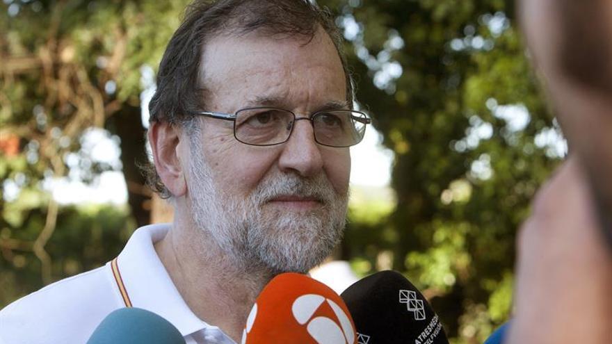 """Rajoy califica de """"excelente"""" el dato de nuevos empleados en el último año"""