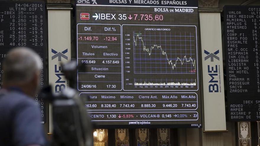 La Bolsa española sube el 3,11 % apoyada en el sector financiero