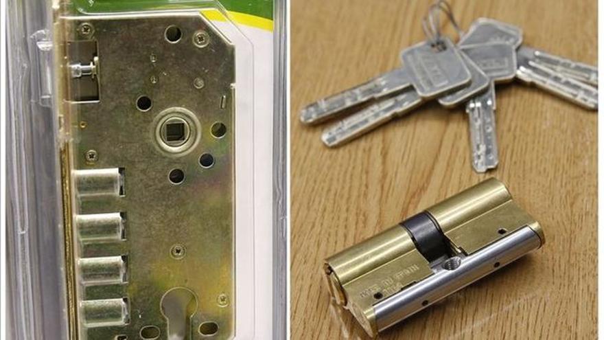 Imagen de archivo de una cerradura.