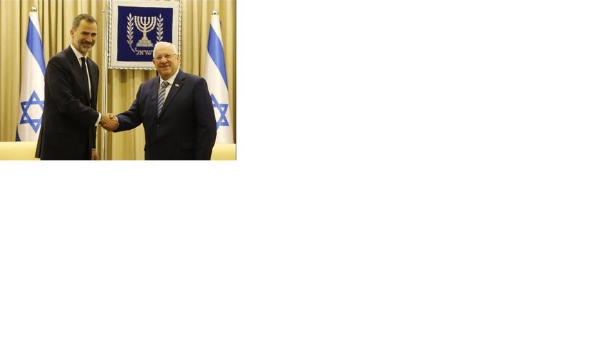 Los Reyes reciben este lunes a Reuven Rivlin en la primera visita de Estado de un presidente israelí desde 1992