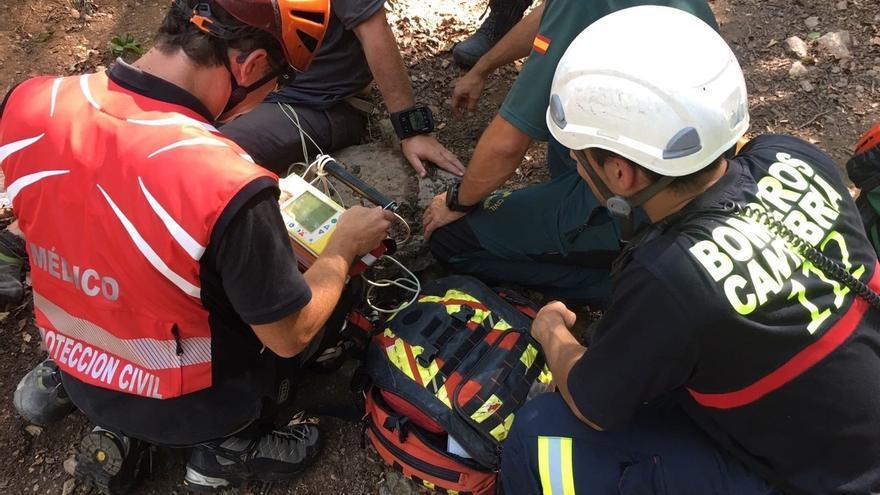 Evacuado de Picos de Europa un senderista con deshidratación