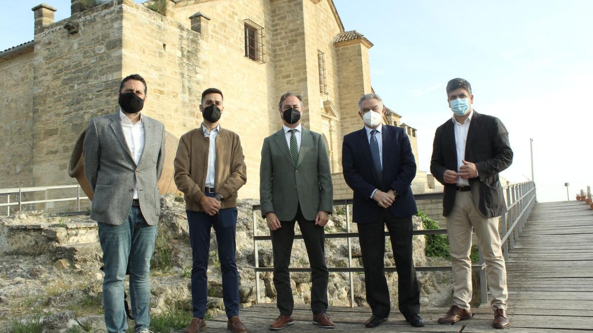 Visita del secretario general de Turismo a Montilla