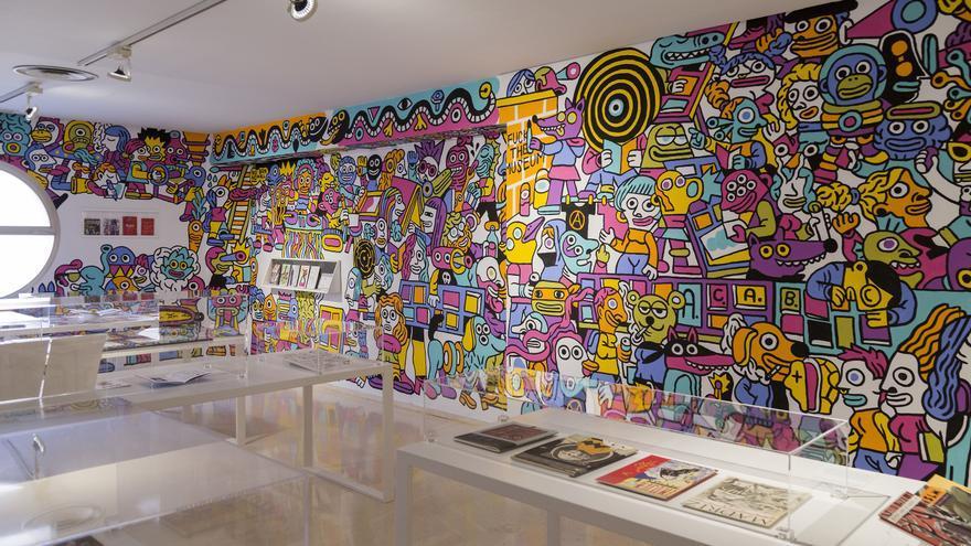La muestre recoge una colección de más de 2.000 ejemplares de fanzines