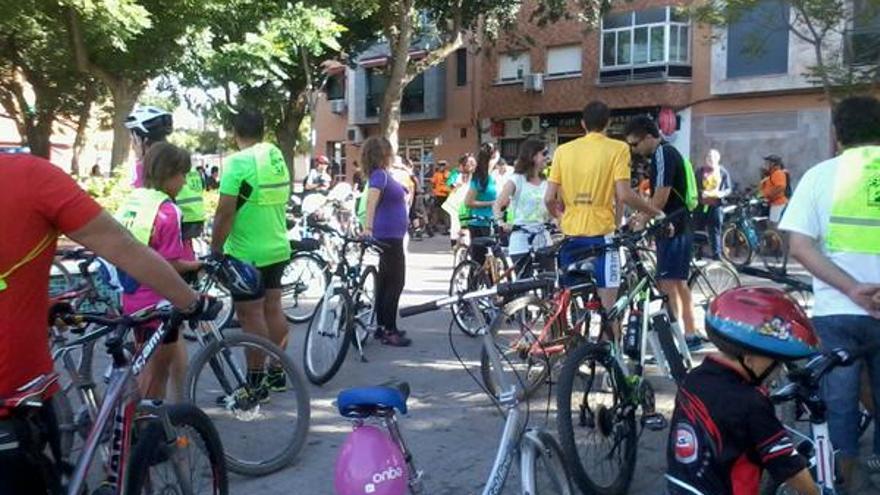 Marcha en bici en Ciudad Real / Foto: Equo Ciudad Real