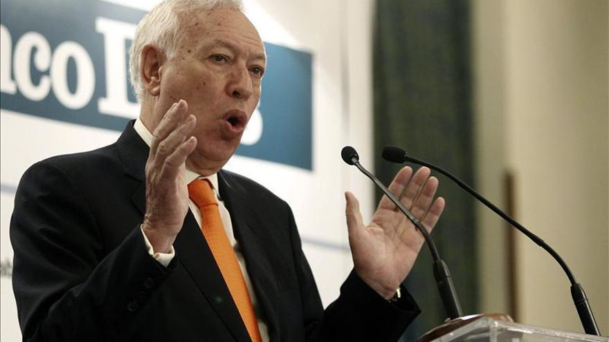 """Margallo cree que la situación económica de la UE impone """"un cambio de rumbo radical"""""""