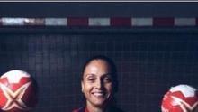 Silvia Navarro, portera del Rocasa y la  selección española.