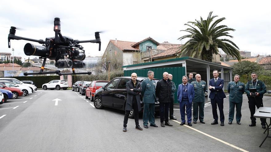 Guardia Civil y Gobierno refuerzan la lucha contra delitos medioambientales con un dron de última generación