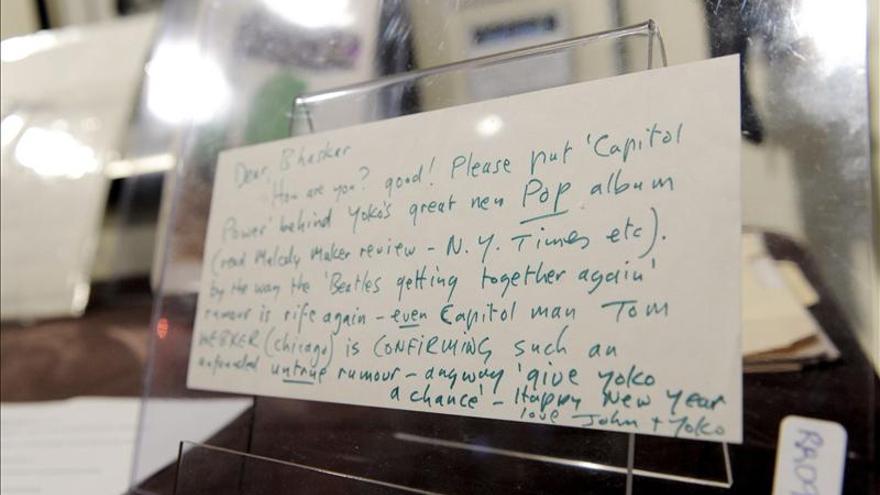 A la venta los partes de castigo escolares de John Lennon