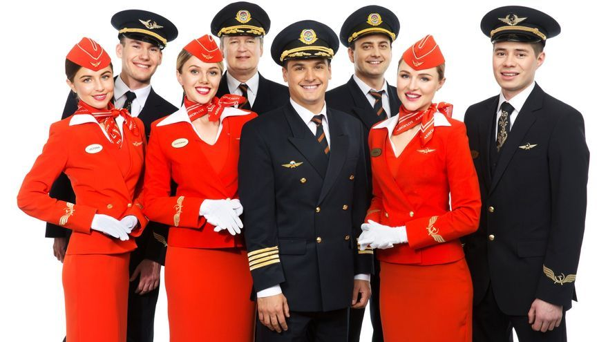 Personal de vuelo de Aeroflot