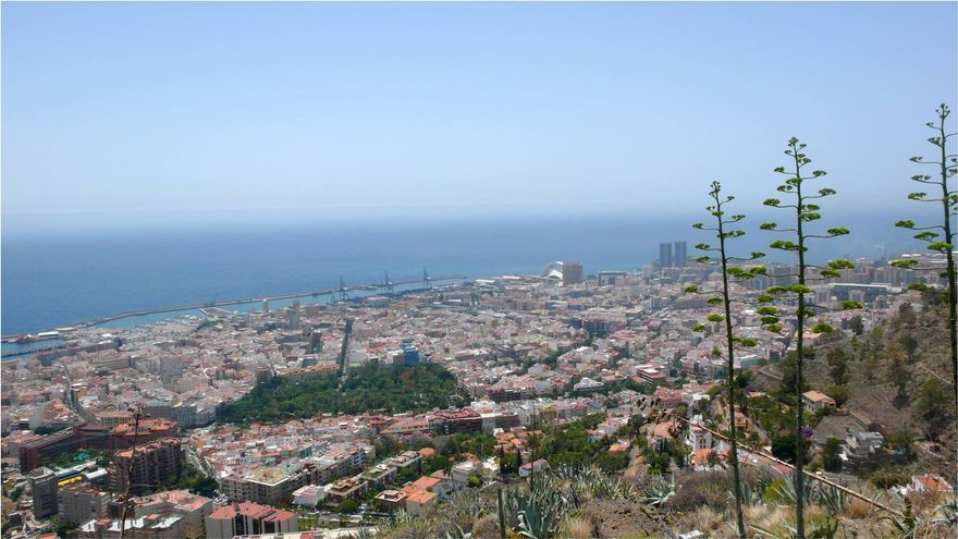 Panorámica de Santa Cruz de Tenerife.