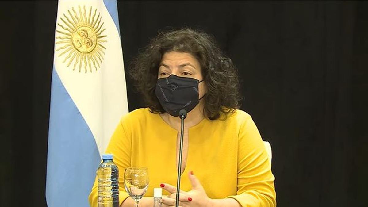 La ministra de Salud, Carla Vizzotti, encabezó la segunda jornada de la reunión del Consejo Federal de Salud (Cofesa)