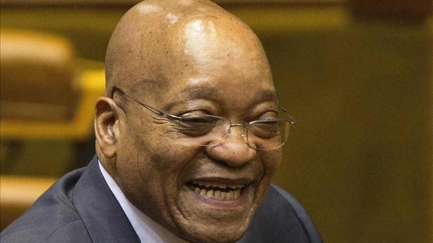 """El Gobierno exonera a Zuma de devolver dinero público utilizado """"indebidamente"""""""