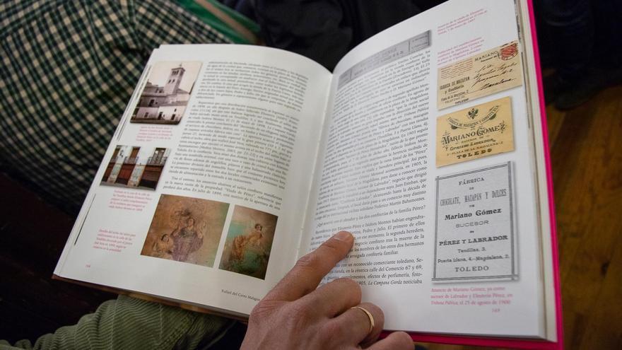 Imagen del libro 'El mazapán de Toledo y su historia. La confitería de Santo Tomé' / Fotografía: Antonio Seguido