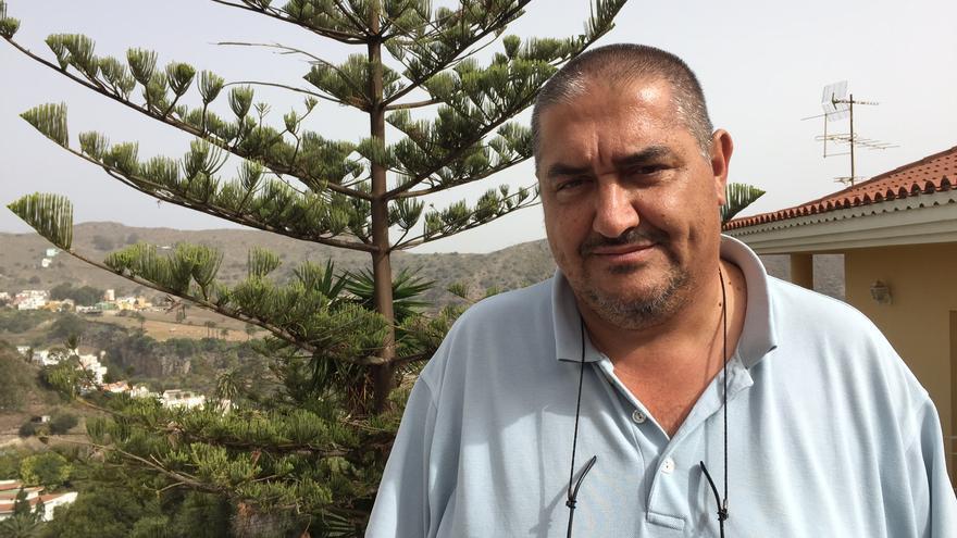 El denunciante del caso de los floteros, Expedito Suárez.