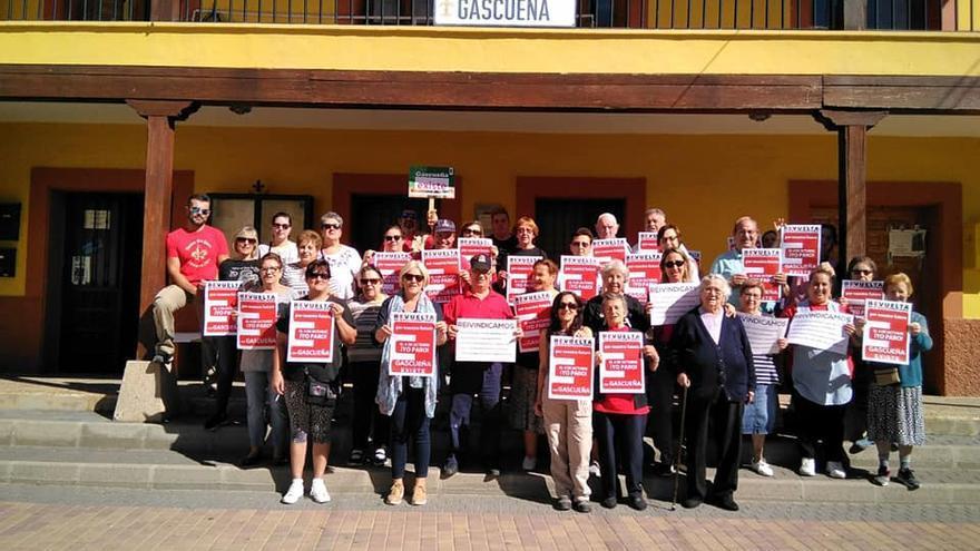Vecinos de Gascueña (Cuenca) contra la despoblación
