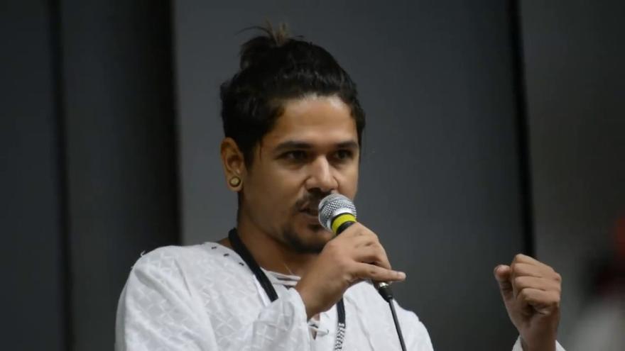 Geovani Krenak, líder indígena brasileño.
