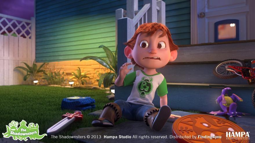 Una de las series de animación de La Colla, el espacio infantil de À Punt