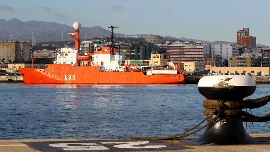 Fallece uno de los tripulantes contagiados de COVID-19 en el buque Hespérides