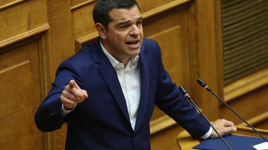 El Parlamento griego aprueba por gran mayoría paquetes de mejoras de Tsipras