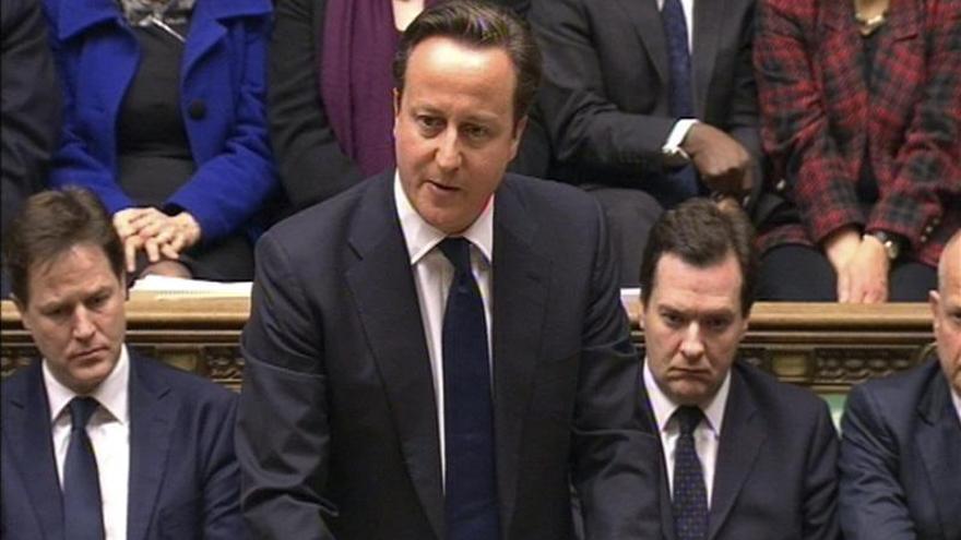 Cameron presenta un anteproyecto de ley sobre el referéndum de la UE