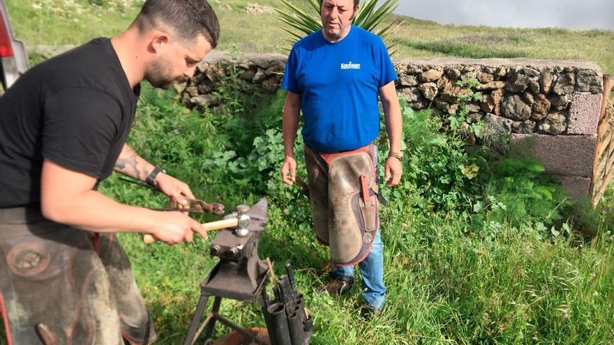 Preparación de una herradura