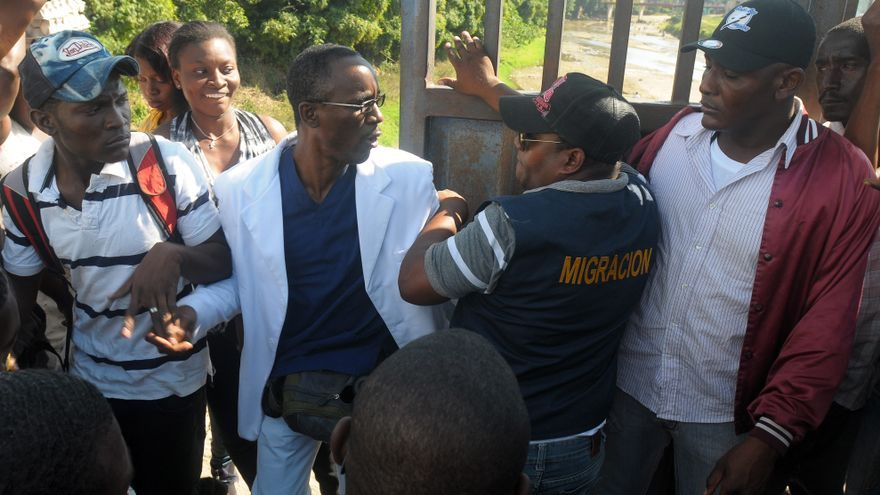 Tensa situación en la frontera dominico-haitiana por aglomeración de ilegales