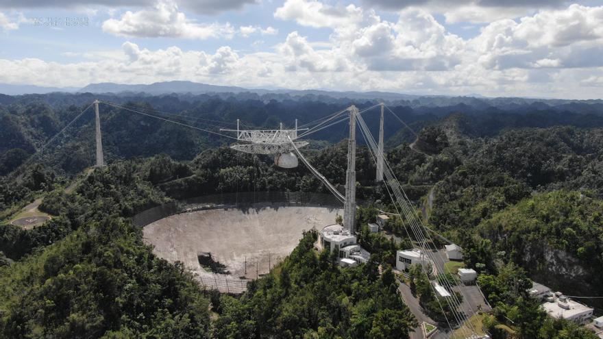 El colapso del Observatorio de Arecibo, un fin esperado pero no menos triste