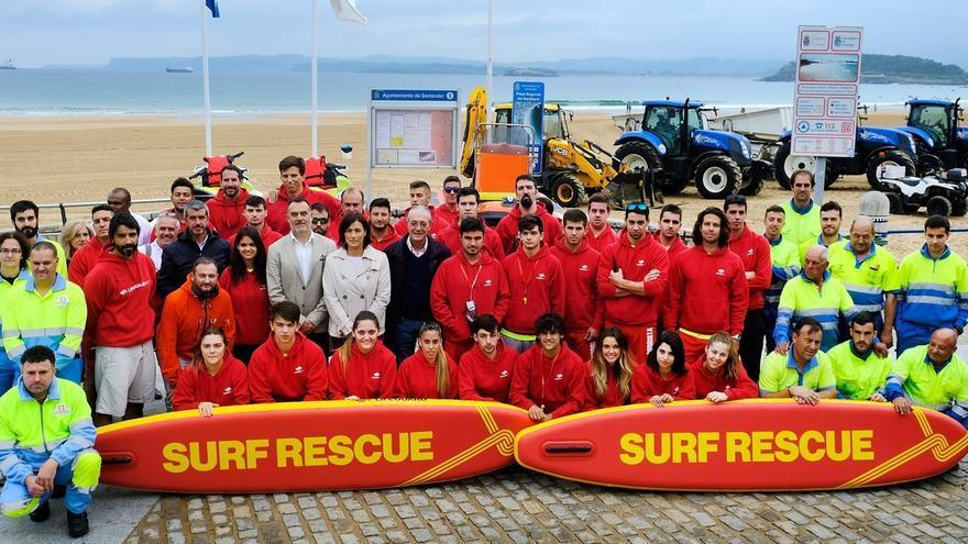 Más de 80 personas trabajarán este verano en los servicios de socorrismo y limpieza de playas