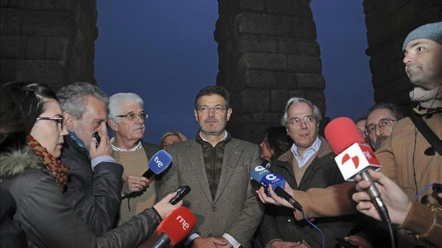 """Catalá dice que hay que apostar """"con firmeza"""" por el ATC en Villar de Cañas"""